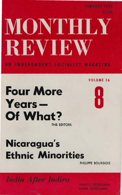 View Vol. 36, No. 8: January 1985