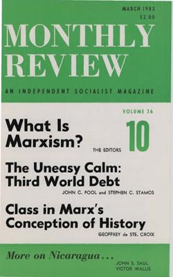 View Vol. 36, No. 10: March 1985