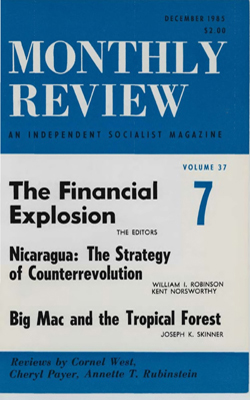 View Vol. 37, No. 7: December 1985