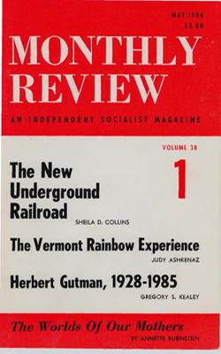 View Vol. 38, No. 1: May 1986