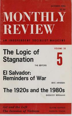 View Vol. 38, No. 5: October 1986