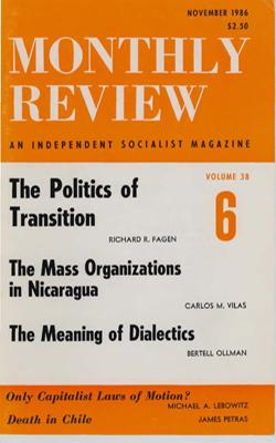 View Vol. 38, No. 6: November 1986