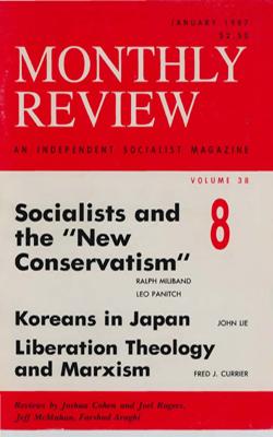 View Vol. 38, No. 8: January 1987