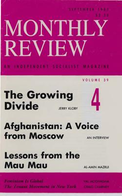 View Vol. 39, No. 4: September 1987