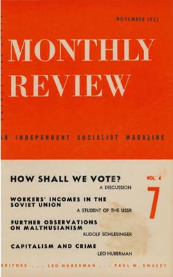 View Vol. 4, No. 7: November 1952