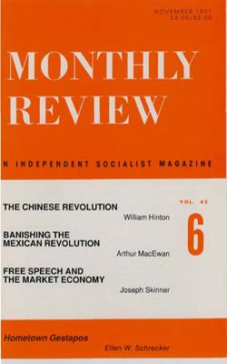View Vol. 43, No. 6: November 1991