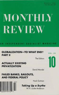 View Vol. 43, No. 10: March 1992