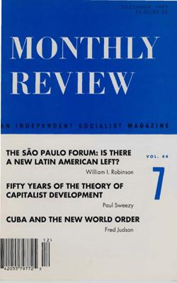 View Vol. 44, No. 7: December 1992