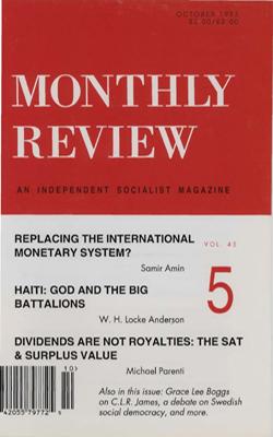 View Vol. 45, No. 5: October 1993