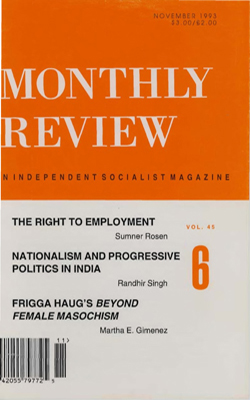 View Vol. 45, No. 6: November 1993