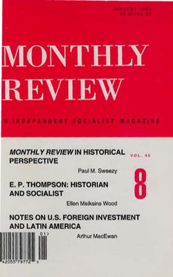 View Vol. 45, No. 8: January 1994