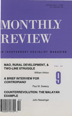 View Vol. 45, No. 9: February 1994