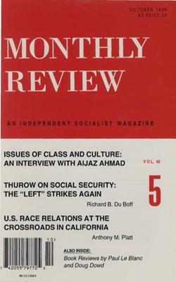 View Vol. 48, No. 5: October 1996
