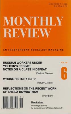 View Vol. 48, No. 6: November 1996