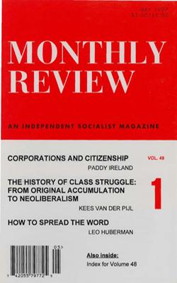 View Vol. 49, No. 1: May 1997