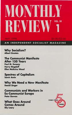 View Vol. 50, No. 1: May 1998