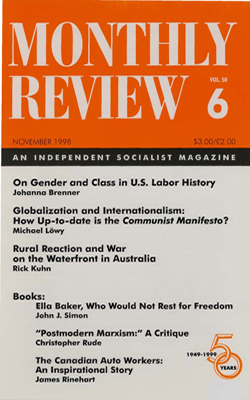 View Vol. 50, No. 6: November 1998