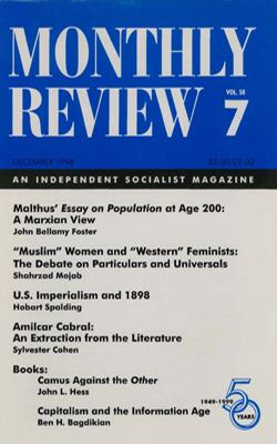 View Vol. 50, No. 7: December 1998