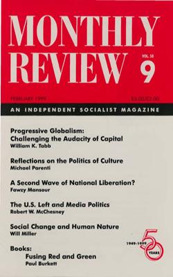 View Vol. 50, No. 9: February 1999