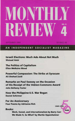 View Vol. 51, No. 4: September 1999