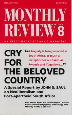 View Vol. 52, No. 8: January 2001