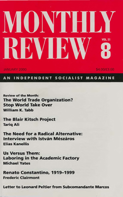 View Vol. 51, No. 8: January 2000