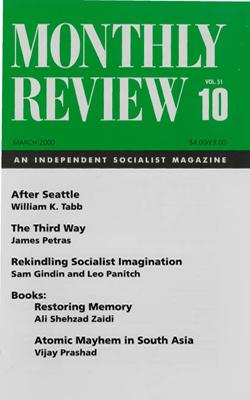 View Vol. 51, No. 10: March 2000