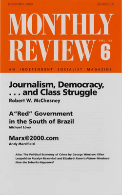 View Vol. 52, No. 6: November 2000
