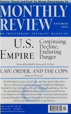 View Vol. 55, No. 7: December 2003