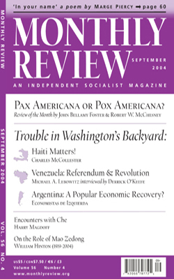 View Vol. 56, No. 4: September 2004