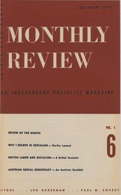 View Vol. 1, No. 6: October 1949