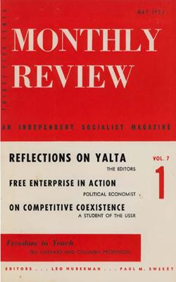 View Vol. 7, No. 1: May 1955