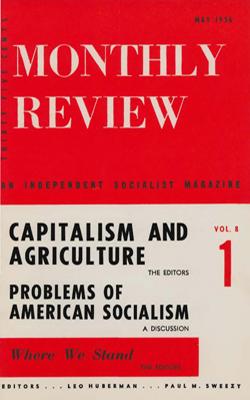 View Vol. 8, No. 1: May 1956