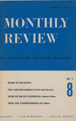View Vol. 1, No. 8: December 1949
