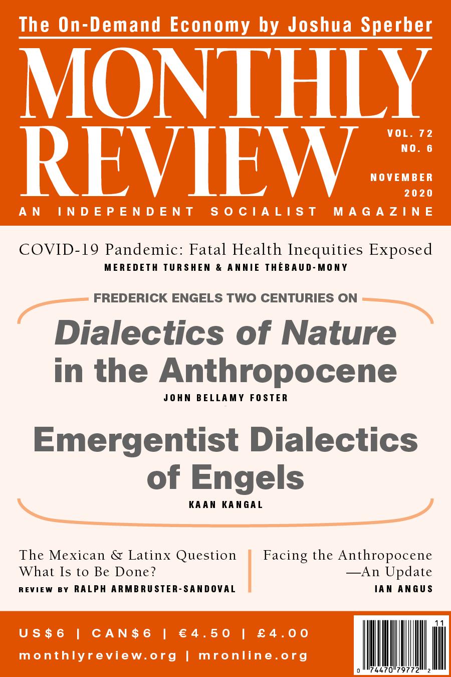 View Vol. 72, No. 6 (November 2020)