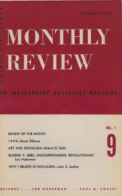 View Vol. 1, No. 9: January 1950